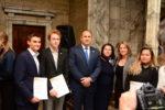 Президентът награждава 62-ма български ученици, постигнали златно и сребърно ниво в Международна награда на херцога на Единбург